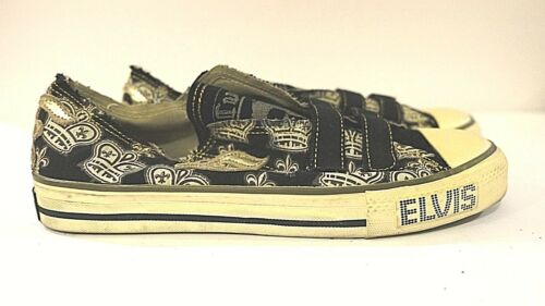 ELVIS COLLECTORS EDITION SHOES SKATER STYLE VELCRO
