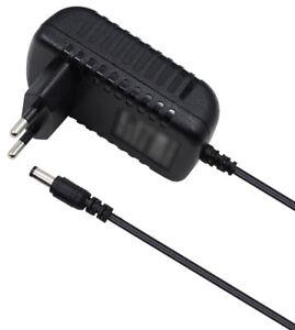 Ladegerät für Yamaha PSS-280 Keyboard 12V Netzteil