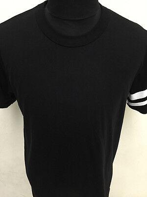 New Momo taro white stripes japan label street wear black mens t-shirt S M L XL