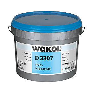 6 & 14 Kg Wakol D 3307 Pvc-klebstoff Vinylkleber Vinyl Dispersionsklebstoff 3 Heimwerker Kleber