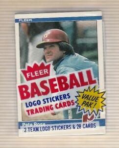 1984-Fleer-Baseball-Cello-Pack-with-Pete-Rose-on-Front-Showing