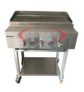Image Is Loading 3 Burner Gas Charcoal Bbq Grill Char