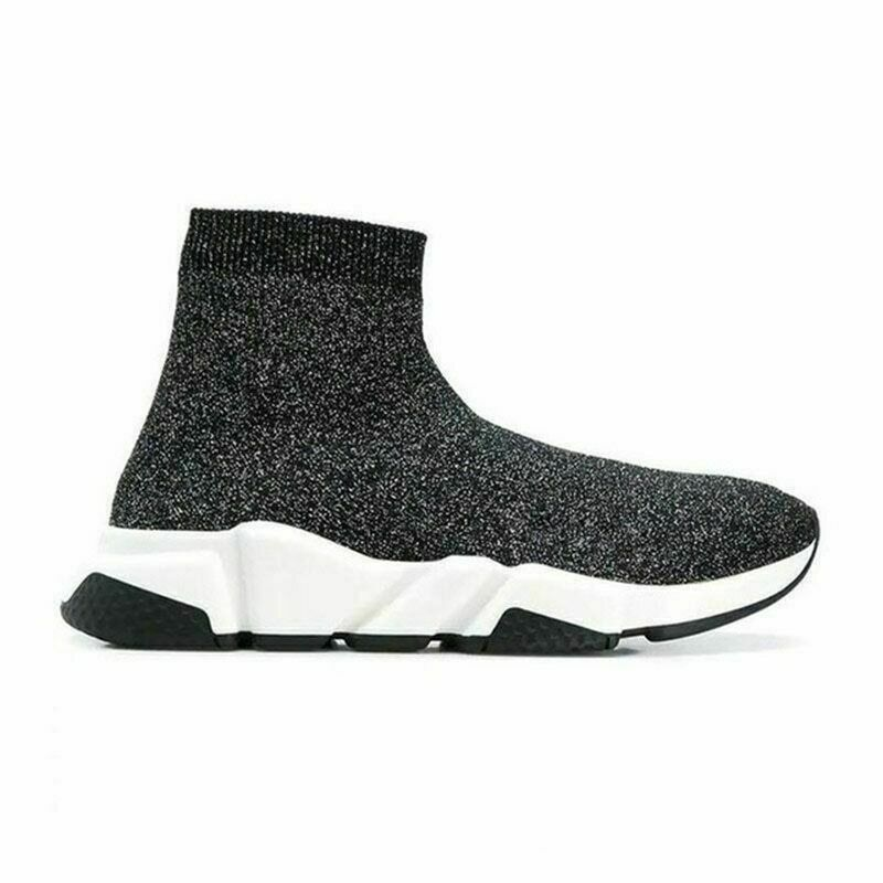 High Top Sock Shoes Men Slip-On Breathable Sneakers Men Casual Shoes Sneaker
