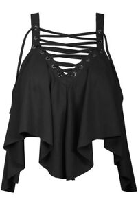 **sale** Cute!! Laced Up Ruffle Suede Crop Top, Various Sizes Elegantes Und Robustes Paket