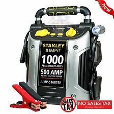 Battery Charger 1000 Peak Amp Auto Jump Starter Booster Portable Power Pack Car