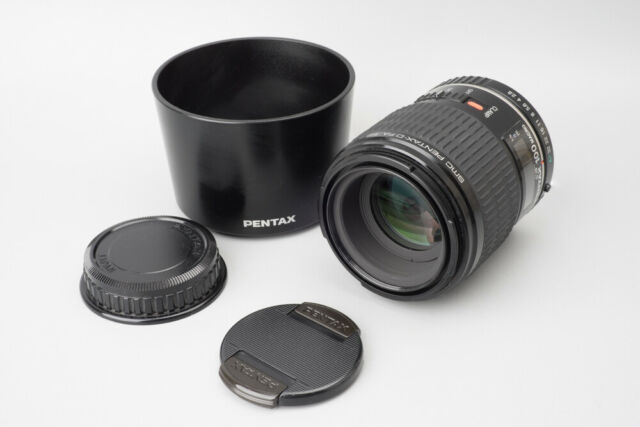 Pentax-D SMC FA 100mm f/2.8 f2.8 Macro Auto Focus Lens, For Pentax K PK Mount