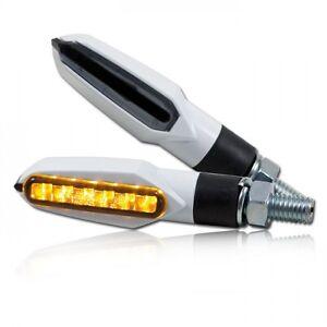 LED mini intermitente slight para moto negro LED signals smoked lens