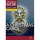 A Christmas Carol: York Notes for GCSE (9-1) by Lucy English (Paperback, 2015)