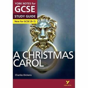 A-Christmas-Carol-York-Notes-for-GCSE-9-1-by-Lucy-English-paperback-Literature