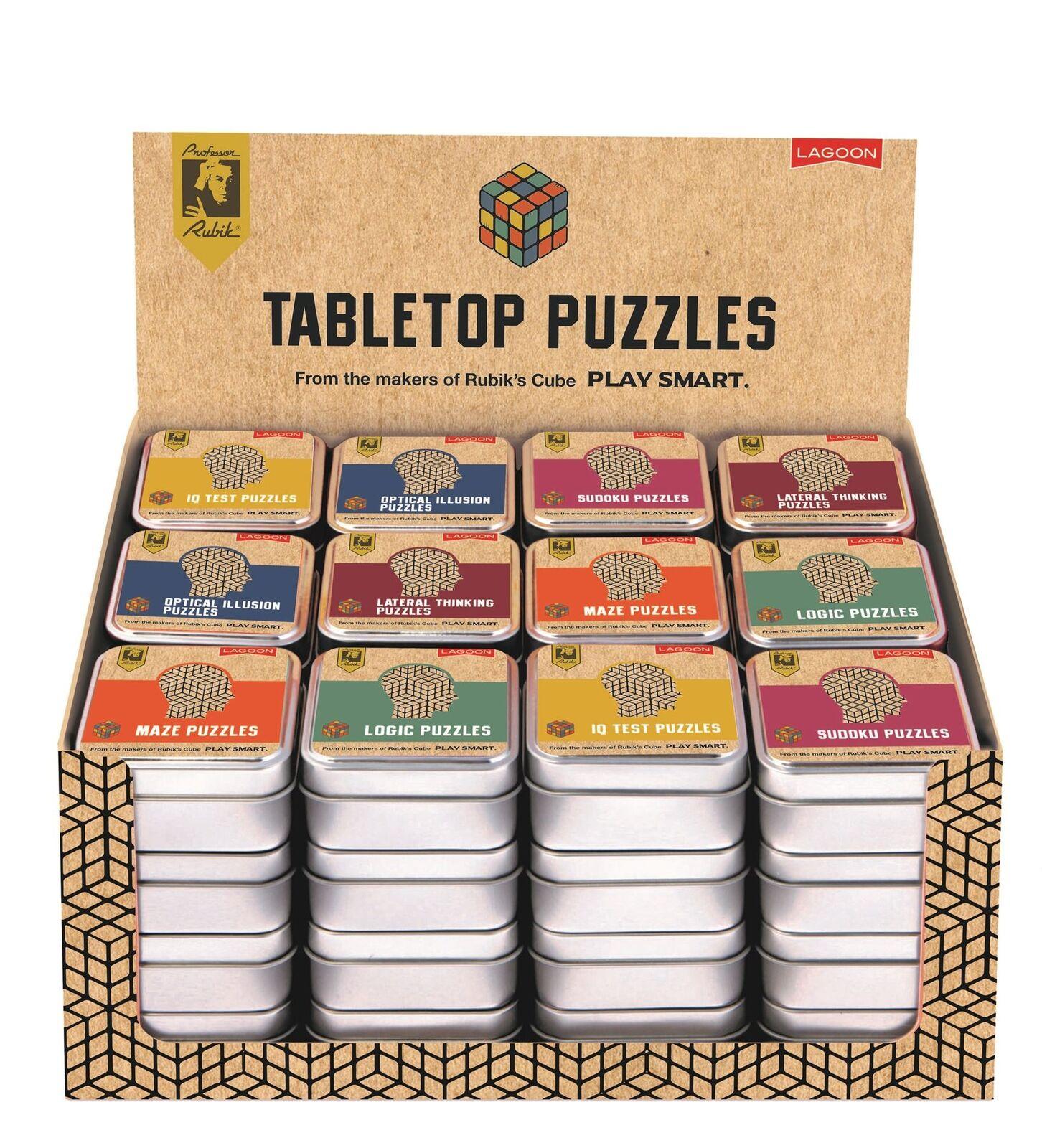 Professor Rubik - Tabletop Puzzles - Sold Individually 6 Designs