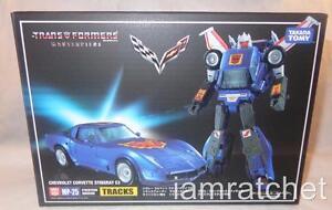 Transformers Masterpiece Tracks Corvette Stingray C3 Misb Takara Mp 25 Chevrolet