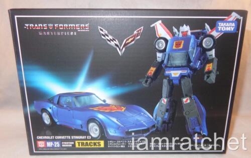 Transformers Masterpiece pistes Menthe en Boîte Scellée Takara Pistolets mitrailleurs 25 Chevrolet Corvette Stingray C3