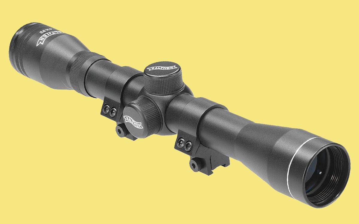 Walther Zielfernrohr mit Absehen 8, 8, Absehen 4 x 32 / 8 Fernrohr Luftgewehr 21500 0495d8