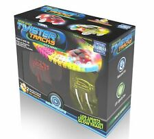 Mindscope Twister Tracks Neon Glow Police Car 221pc Includes 11ft Flexible Track