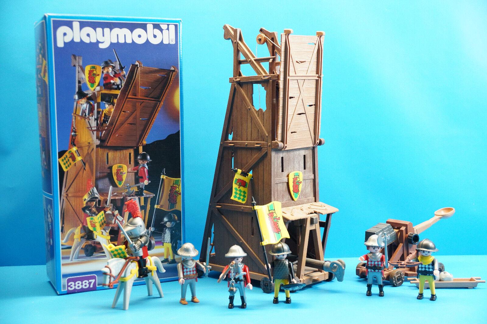 Playmobil Angriffsturm - Belangerungsturmmit OVP (3887) - J839