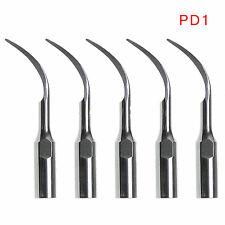 5pc Set Woodpecker Dental Ultrasonic Scaler Dte Scaler Tips Gd1 Gd5 Pd1 Ed1 Pd4