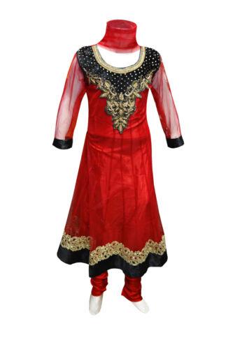Bambini a Anarkali Girl Party Bollywood 1014 per da indiani Costume tema Churidar rgWBrU