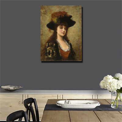19 century Europe Court Oil Painting HD print on canvas huge wall picture #0493