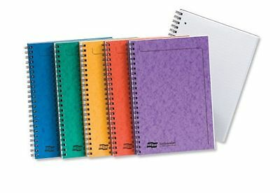 Europa Notemaker Notebook Notepad Ruled Lined Wire Bound 120 Pages A4 A5