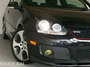 Vw Mk5 Yellow Fog Light Overlays Tint Vinyl Gti R32 Edm 06