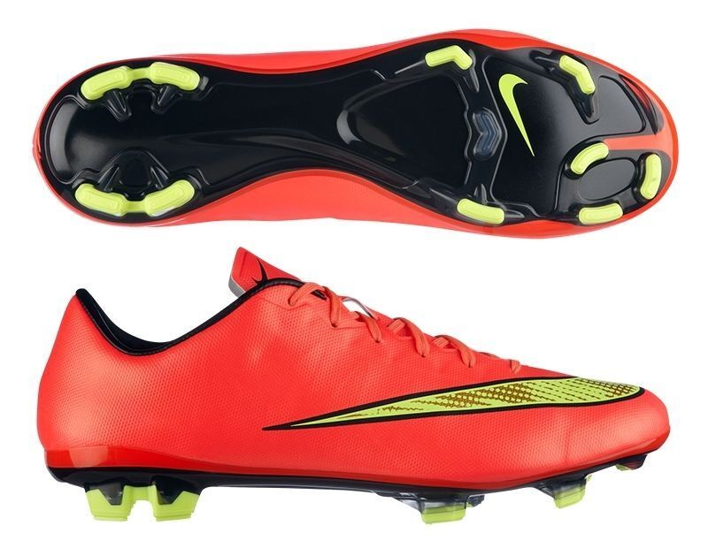 NIKE MERCURIAL VELOCE II FG FIRM GROUND SOCCER CR7 schuhe FOOTBALL Hyper Punch
