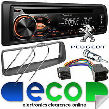 Peugeot 206 CC 1998-10 Pioneer CD MP3 USB Car Stereo Radio & Fascia Fitting Kit
