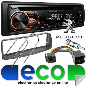 peugeot 206 cc 1998 10 pioneer cd mp3 usb car stereo radio. Black Bedroom Furniture Sets. Home Design Ideas