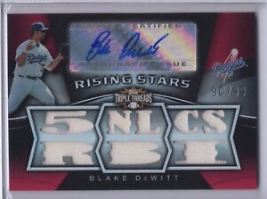 2009-Topps-Triple-Threads-Blake-DeWitt-Dodgers-Jsy-AU-99