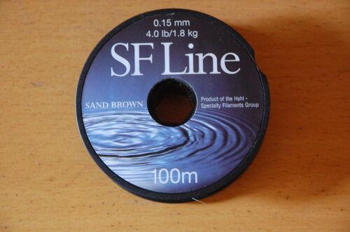 4.0 Lbs  1.8 Kg  Green SF LINE 100 m  0.15 mm