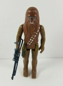 Chewbacca-1977-Vintage-Kenner-A-New-Hope-Star-Wars-Action-Figure-with-Blaster