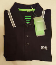 29af8d80e Hugo Boss Long Sleeve Polo Shirt for Men - Blue Black Grey White S M L XL  XXL