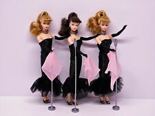 "PRESENTING... ""THE BARBIES""! Barbie 3 Doll Lot Solo In The Spotlight_NEW DeBOXED"