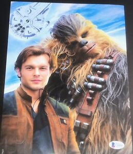 ALDEN-EHRENREICH-SIGNED-AUTOGRAPH-STAR-WARS-HAN-SOLO-BRAND-NEW-PHOTO-BECKETT-A
