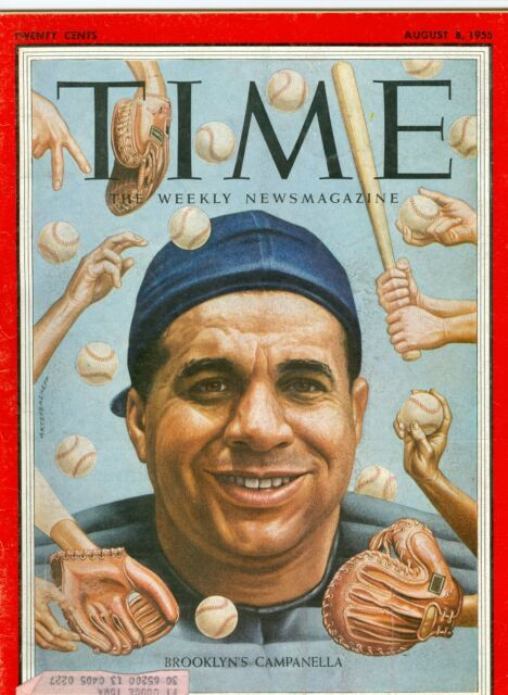 MAGAZINE TIME Brooklyn campanella  August 8 1955