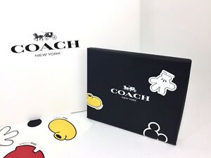 NWT-SOLD-OUT-Coach-DISNEY-X-MICKEY-Hangtag-Set-Charm-Key-Chain-Fob-F59882