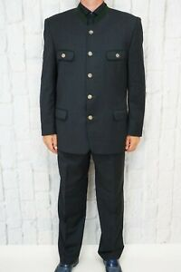 LODENFREY-Herren-Anzug-Gr-52-Grau-Sakko-amp-Hose-Suit
