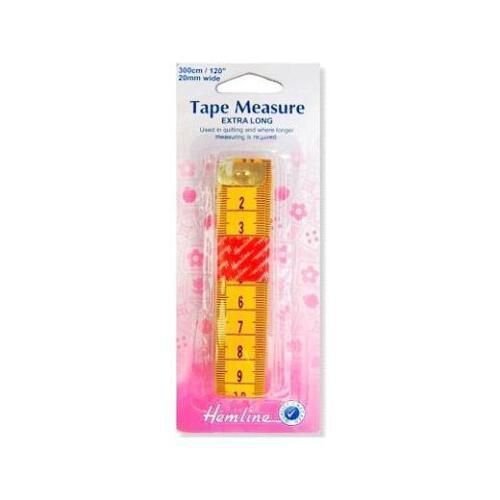 Hemline 3m Extra Long Tape Measure H256