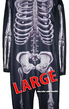 Donnie Darko Costume Skeleton Suit Adult Cosplay Halloween Party - Large