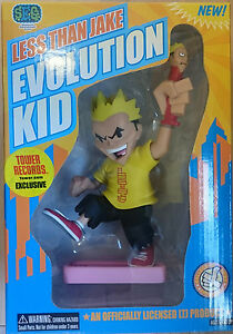 LESS-THAN-JAKE-7-034-Evolution-Kid-Rotocast-Figure-Exclusive-Stronghold-NEW