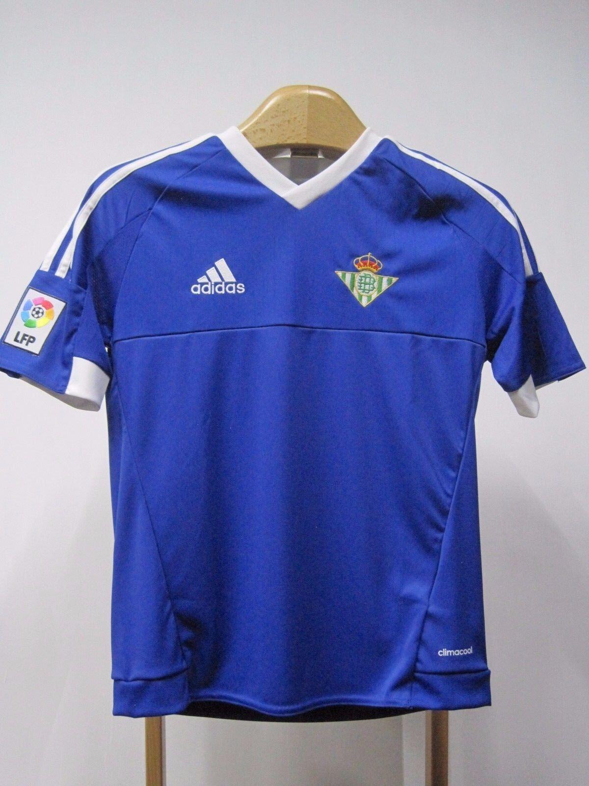 Camiseta Oficial del Real Betis Balompié. Segunda equipación. Original