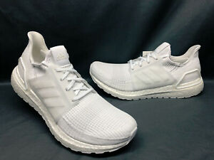 Adidas-Men-039-s-UltraBOOST-19-Running-Sneakers-Cloud-White-Cloud-White-Size-10-NEW