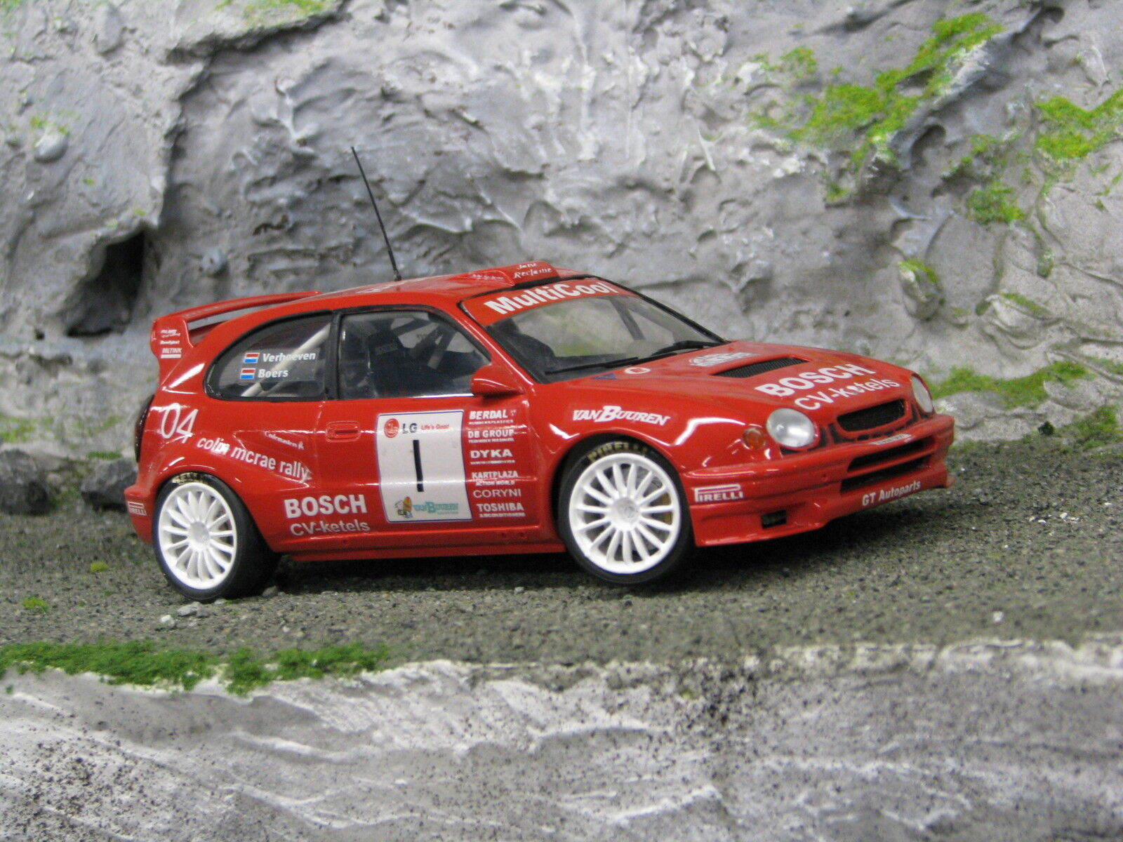 QSP Toyota Corlla WRC 1 24  1 Boers   Verhoeven LG Almere Rally 2004