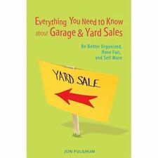 Everything You Need to Know about Garage and Yard Sales : Be Better...