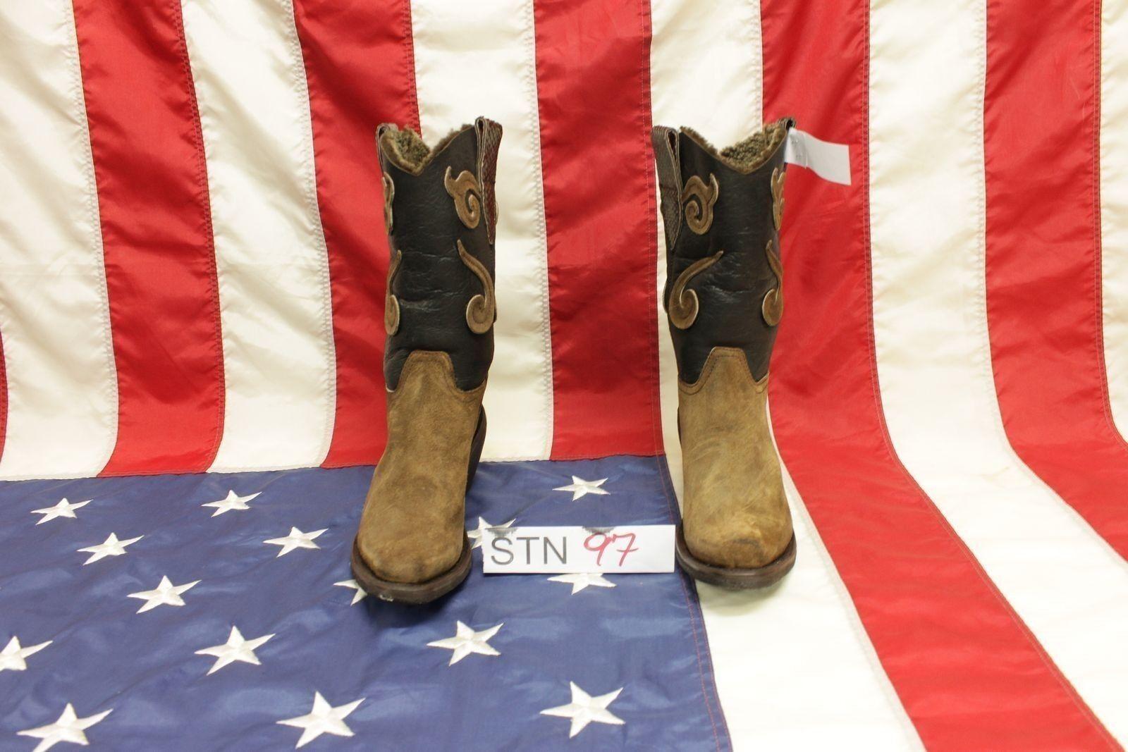 Stiefel Sonora boots neu N.38 (Cod.STN97) camperos country neu boots Stiefeletten Frau 7e4dc5