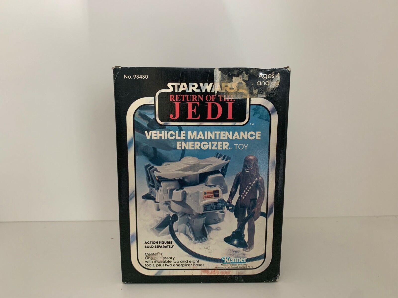 Vintage Star Wars Return Of The Jedi Vehicle Maintenance Energizer - MISB