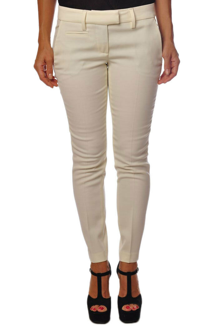 Dondup  -  Pants - Female - White - 340627A180837