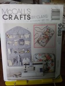 Oop-Mccalls-Crafts-9388-sewing-craft-organizers-covers-pin-cushions-NEW