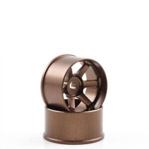 Llantas-de-Aluminio-1-24-TE37-2-0mm-Offset-Bronce-2-Pieza-Mini-Z-AWD-kyosho