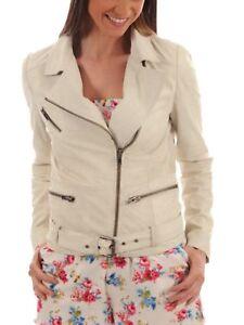 Veste cuir Hot en Fit pour New Moto Vêtements Slim Manteau femmes Biker véritable 6dfIqIYw