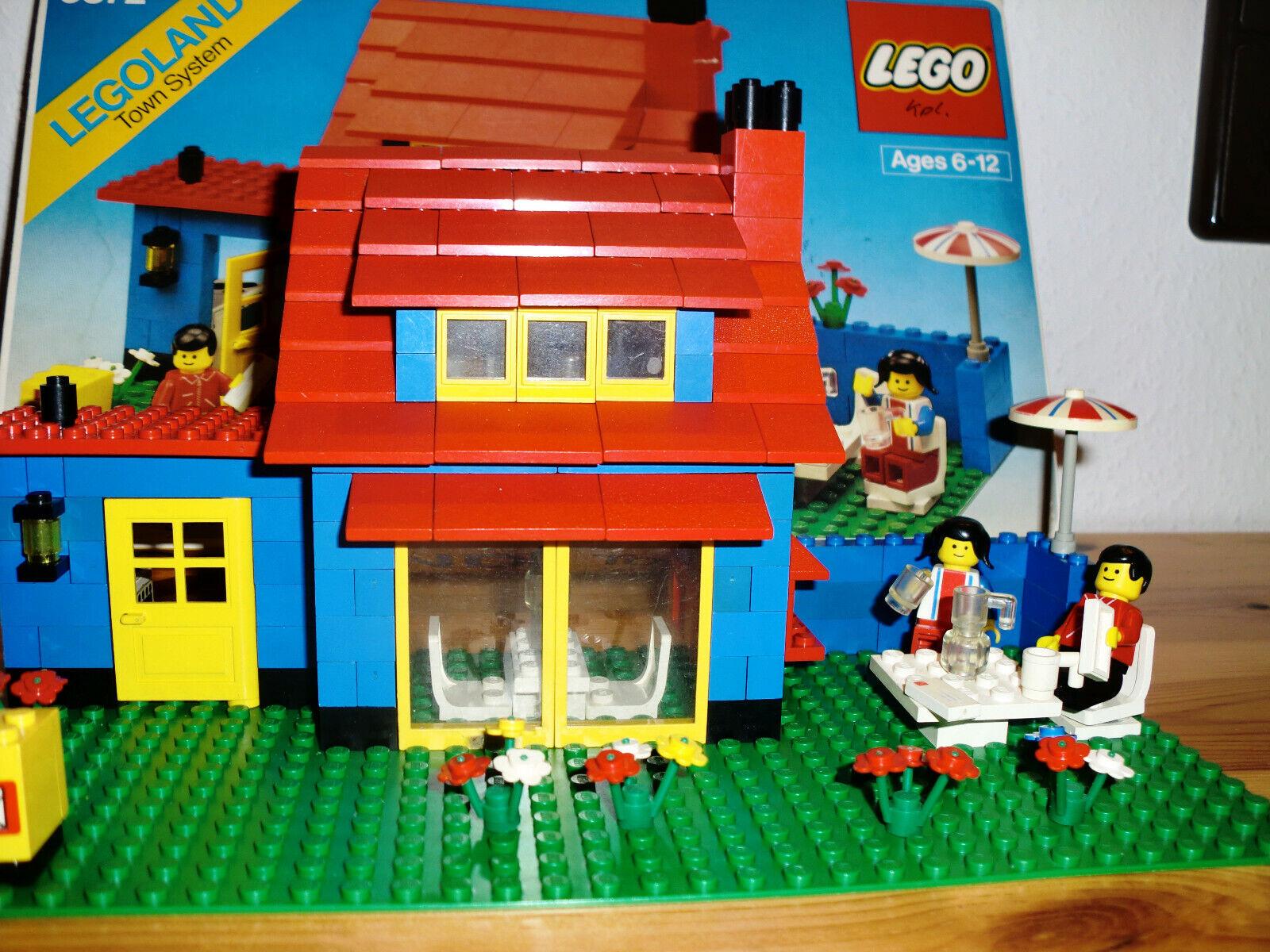 Lego 6372 Legoland - Einfamilienhaus - mit Anleitung und OVP